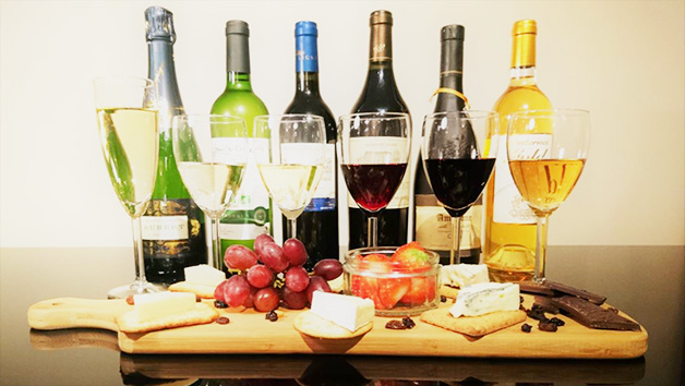 Wine, Champagne and Port Tasting with Cheese and Truffles for Two at Wine Cottage