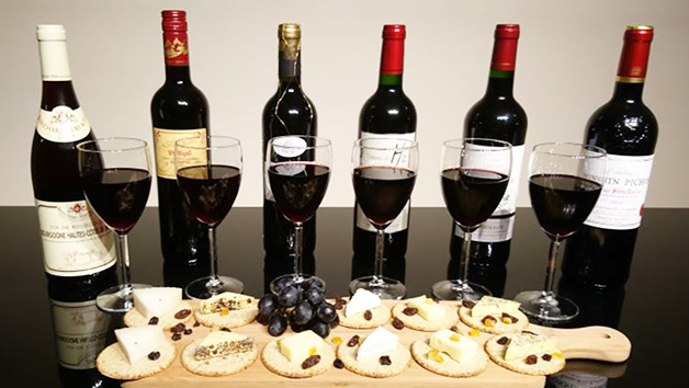 Luxury Red Wine and Cheese Tasting for Two at Wine Cottage