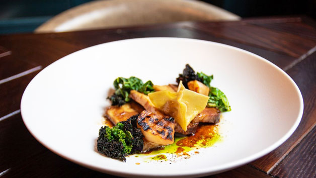 Three Course Meal and a Bottle of Fizz at Dobson and Parnell for Two