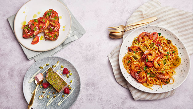Three Course Meal and Fizz at Bella Italia for Two