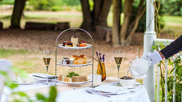 Afternoon Tea with Champagne for Two at Sopwell House