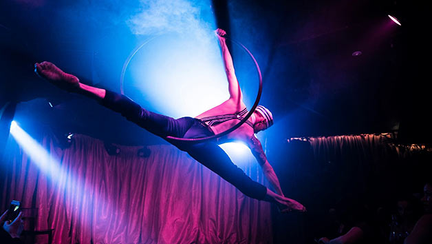 Two Course Brunch with Bottomless Cocktails and Burlesque Show at Proud Cabaret