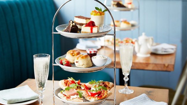 Italian Afternoon Tea and a Glass of Fizz for Two at Bella Italia