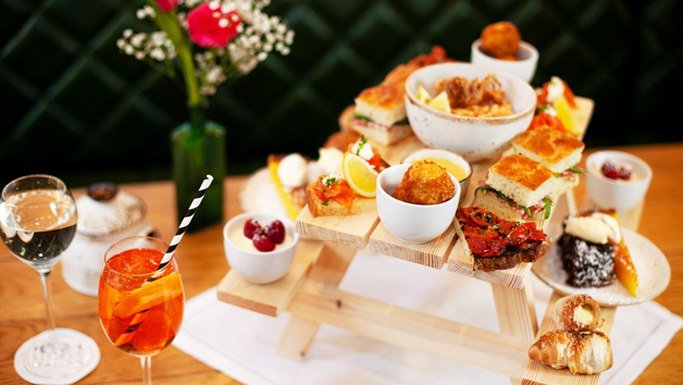 Afternoon Tea with Bottomless Bellinis at Theo's Simple Italian for Two