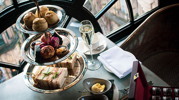 Champagne Afternoon Tea for Two at 5 Star Hotel Gotham Manchester