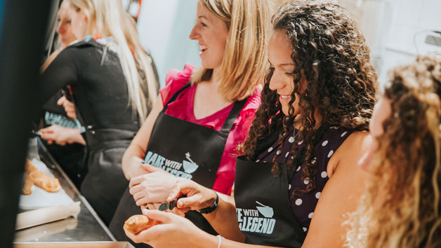 Three Hour Bake with a Legend Cookery Class for Two
