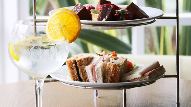 Afternoon Tea with Gin and Tonic at The Wild Pheasant Hotel and Spa for Two