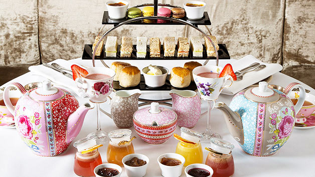 Gin and Jam Afternoon Tea with Cocktail Masterclass for Two at Hush - Special Offer