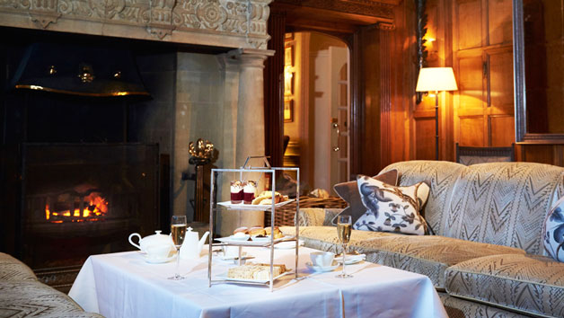 Champagne Afternoon Tea for Two at the 5-star Bovey Castle Hotel