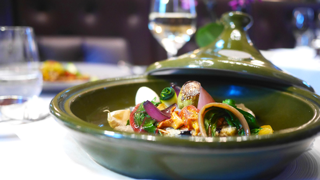 Seven Course Vegetarian Menu Gourmand and Bubbles at Michelin Starred Galvin La Chapelle for Two