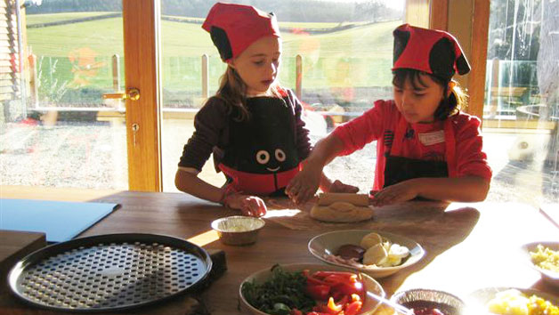 Family Cooking Experience at Harts Barn Cookery School for One Adult and One Child