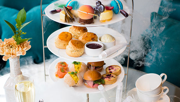 Science Themed Afternoon Tea with Champagne for Two at The Ampersand Hotel