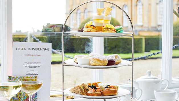 Afternoon Tea with Sparkling Wine for Two in The Orangery Restaurant by Searcys at Blenheim Palace
