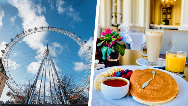 Two Course Bottomless Brunch at Amba Hotel Charing Cross and London Eye Tickets for Two
