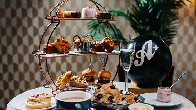 A Game of Bowling and Afternoon Tea with Cocktails at All Star Lanes for Two