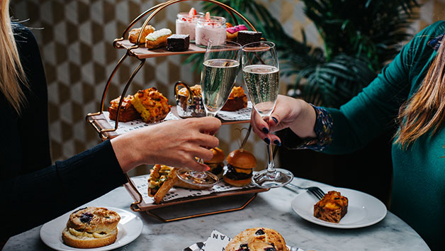 A Game of Bowling and Bottomless Afternoon Tea for Two at All Star Lanes