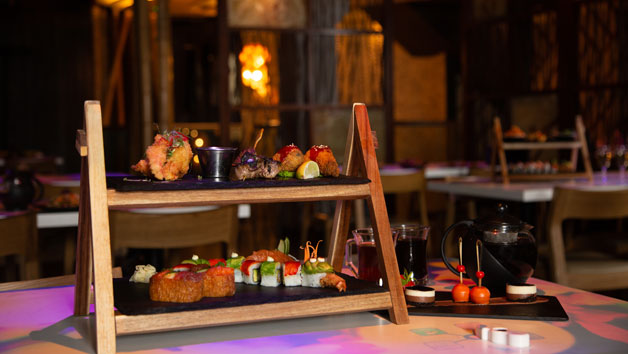 Traditional Afternoon Tea for Two at Inamo