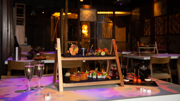 Afternoon Tea and a Glass of Fizz for Two at Inamo