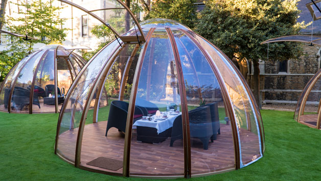 Afternoon Tea with Champagne for Four in The Domes at London Secret Garden Kensington