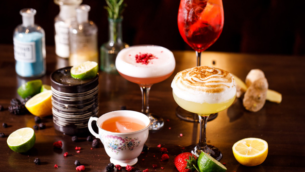 Cocktail Masterclass at The Jekyll & Hyde Birmingham for Four People