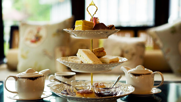 Traditional Afternoon Tea at Three Horseshoes Country Inn and Spa for Two