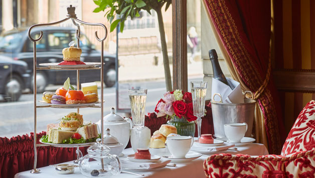 Bottomless Champagne Afternoon Tea at The Rubens at the Palace for Two