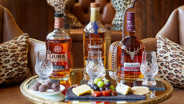 Whisky Tasting Experience with Sharing Dishes for Two at The Rubens at the Palace