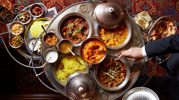 The Curry Room Banquet Experience with Chef Kumar at The Rubens at the Palace for Two