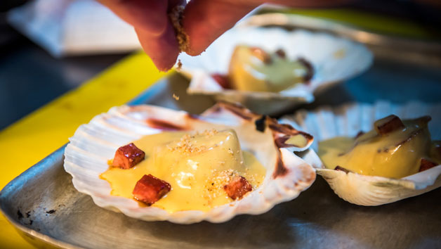 English Grill Gourmet Experience with Chef Ben Kelliher at The Rubens at the Palace for Two