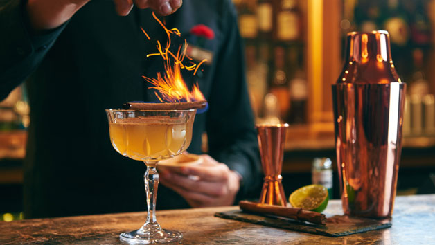 Silviu's Immersive Cocktail Masterclass at The Rubens at the Palace for Two