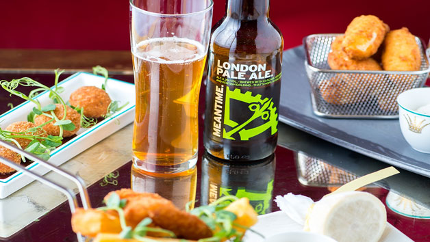 Beer Flight with Sharing Platter at The Rubens at the Palace for Two