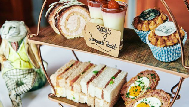 Wind in the Willows Themed Afternoon Tea at a Luxury Family Hotel for Two Adults and Two Children