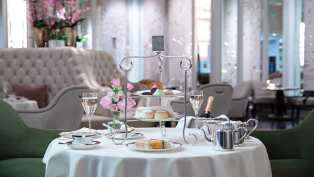 Vegetarian Afternoon Tea and a Glass of Sparkling Wine for Two at The Langham London