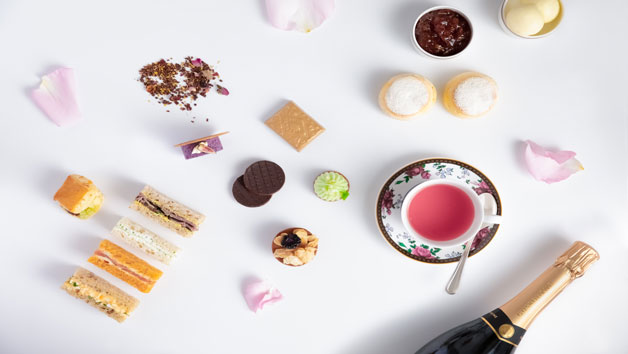 Vegan Afternoon Tea and a Glass of Sparkling Wine for Two at The Langham London
