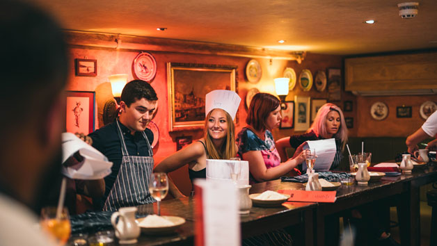 Pizza Making Party for Two at Bunga Bunga Covent Garden with Bottomless Drinks