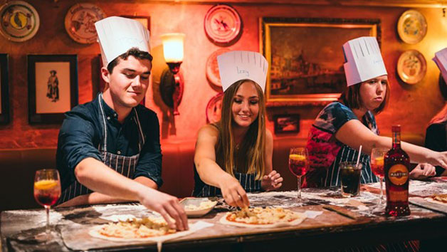 Pizza Making Class at Bunga Bunga in Battersea with Bottomless Prosecco for One