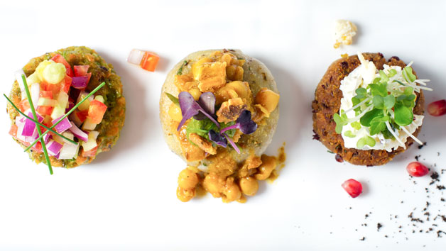 Six Course Vegetarian Tasting Menu with Champagne Cocktails at Benares for Two