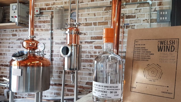Gin Making Experience at In The Welsh Wind Distillery for Two