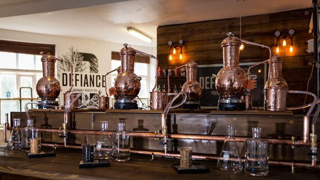 Defiance Gin Academy Gin Making Experience with Drinks and a Snack Platter for One Person
