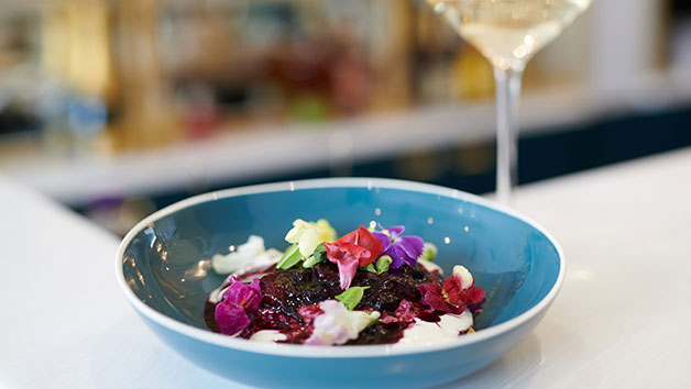 Three Course Vegan Brunch Menu and Vegan Wine at Queens of Mayfair for Two