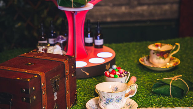 Interactive Family Afternoon Tea at The Cauldron for Two Adults and Two Children