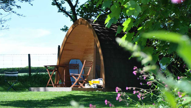 Overnight Glamping Escape for Two