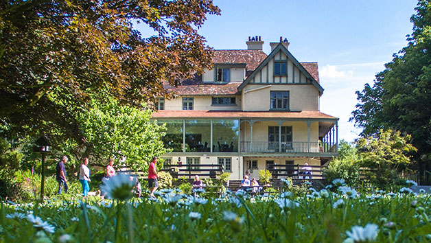 One Night Stay with Breakfast and Dinner for Two at The Hunters Inn, North Devon