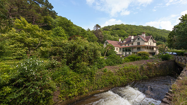 One Night Stay and Breakfast for Two at The Hunters Inn, North Devon
