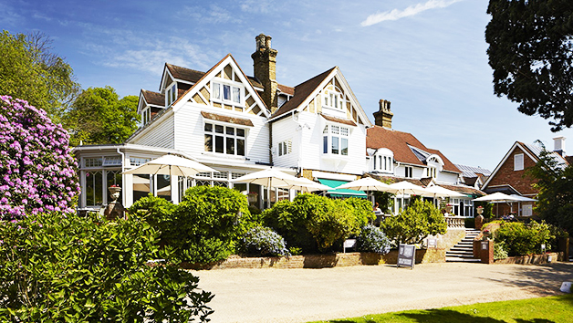 One Night Spa Break with Dinner for Two at Rowhill Grange