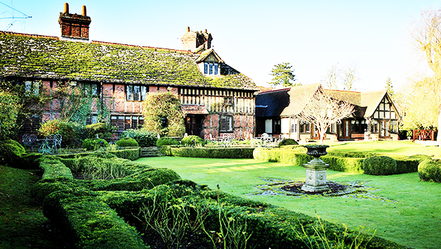 Overnight Luxury Getaway with Dinner for Two at Langshott Manor