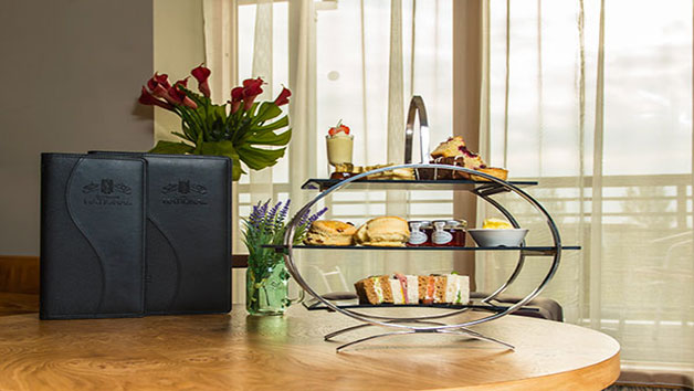 Afternoon Tea with Bubbles at East Sussex National Hotel for Two