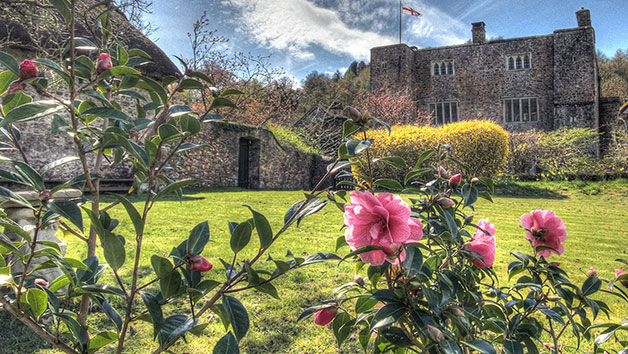 One Night Escape with Breakfast at Bickleigh Castle for Two