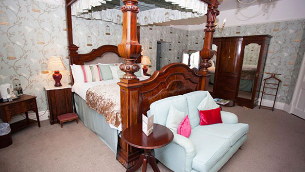 Overnight Stay in a Four Poster Suite at The Speech House Hotel