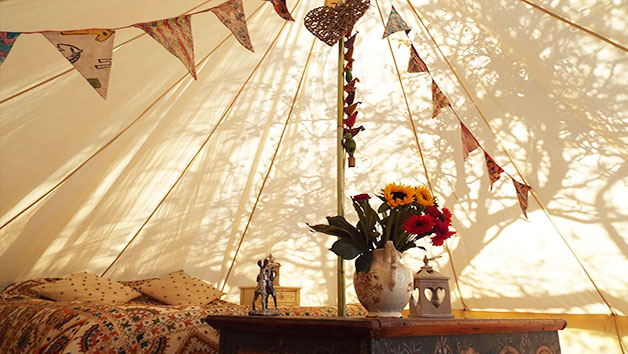 Two Night Bell Tent Glamping Break in Gloucestershire